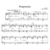 """""""Progression"""" [Instrumental for solo piano] (""""It's Only Life"""" CD key) in C"""