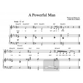 """""""A Powerful Man"""" [Up-tempo comedy] in Eb – Bass or Soprano"""
