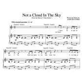 """""""Not A Cloud In The Sky"""" [Medium-tempo acting piece] in F – Bass or Soprano"""