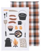 Now Designs Dishtowel - Set of Two - Camp Cookout 2232043
