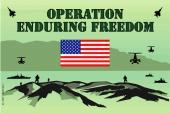 Operation Enduring Freedom Sticker