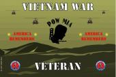 United States National Guard Veteran Flag-Vietnam War