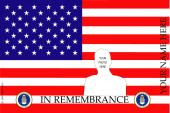 Remembrance Flag Design- U.S. Air Force
