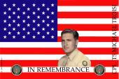 Remembrance Flag Design- U.S. Army