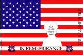 Remembrance Flag Design- U.S. Coast Guard