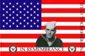 Remembrance Flag Design- U.S. Navy
