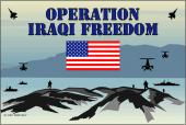Operation Iraqi Freedom Sticker