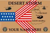 U.S.  Army Desert Storm Flag