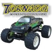 063410 Tornado 4WD Monster Truck(2 CHN 27 Mhz AM Pistol Radio)