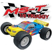 08T421F-1 MS-T **Upgrade Version** 4WD Truggy (Futaba OEM 27 Mhz AM Pistol Radio)