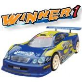 101420 Winner 1 4WD On-road Car (Futaba OEM 2-CHN 27 Mhz AM Pistol Radio)
