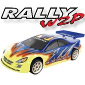102430-1 Rally2 4WD Electric-powered On-road car (2CH 2.4G Digtal Pistol Radio)