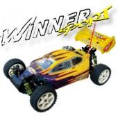 103430-1 Winner Sport 4WD Off-road Buggy (Futaba OEM 2 Channel 27 Mhz AM Pistol Radio)