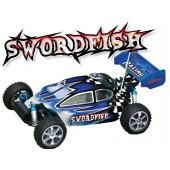 103450 Swordfish 4WD Off-road Buggy  (Futaba OEM 2-CHN 27 Mhz AM Pistol Radio)