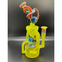Cambria Glass Citron Recycler