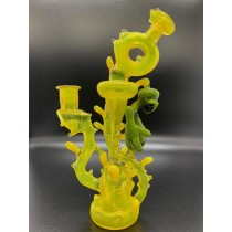 23 Glass Lemon-drop Alien Helios Recycler