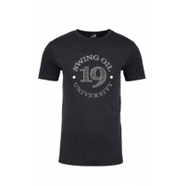 Swing Oil University T shirt  in Dark Grey