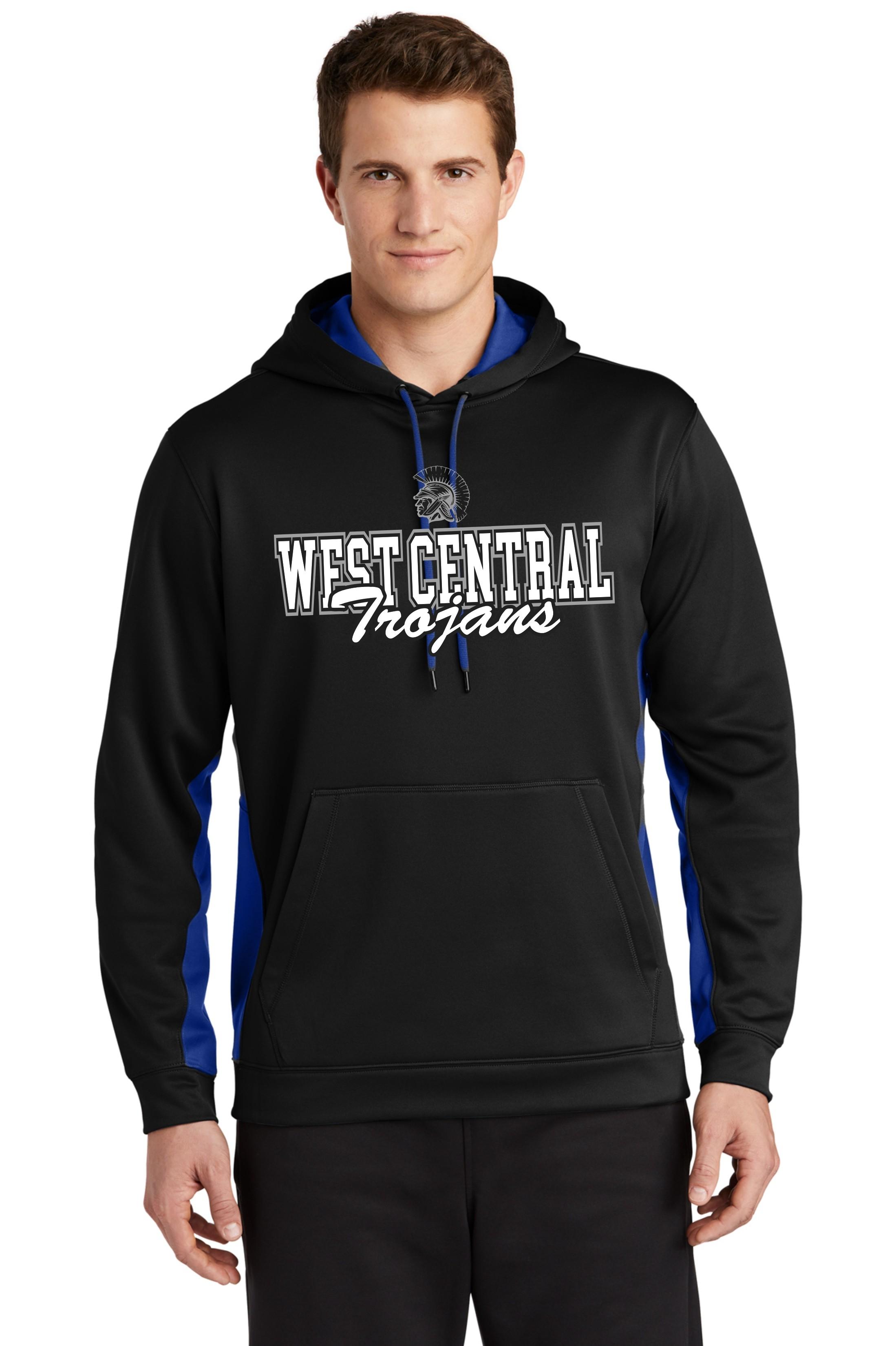 West Central Trojans Dri-Fit Hoodie