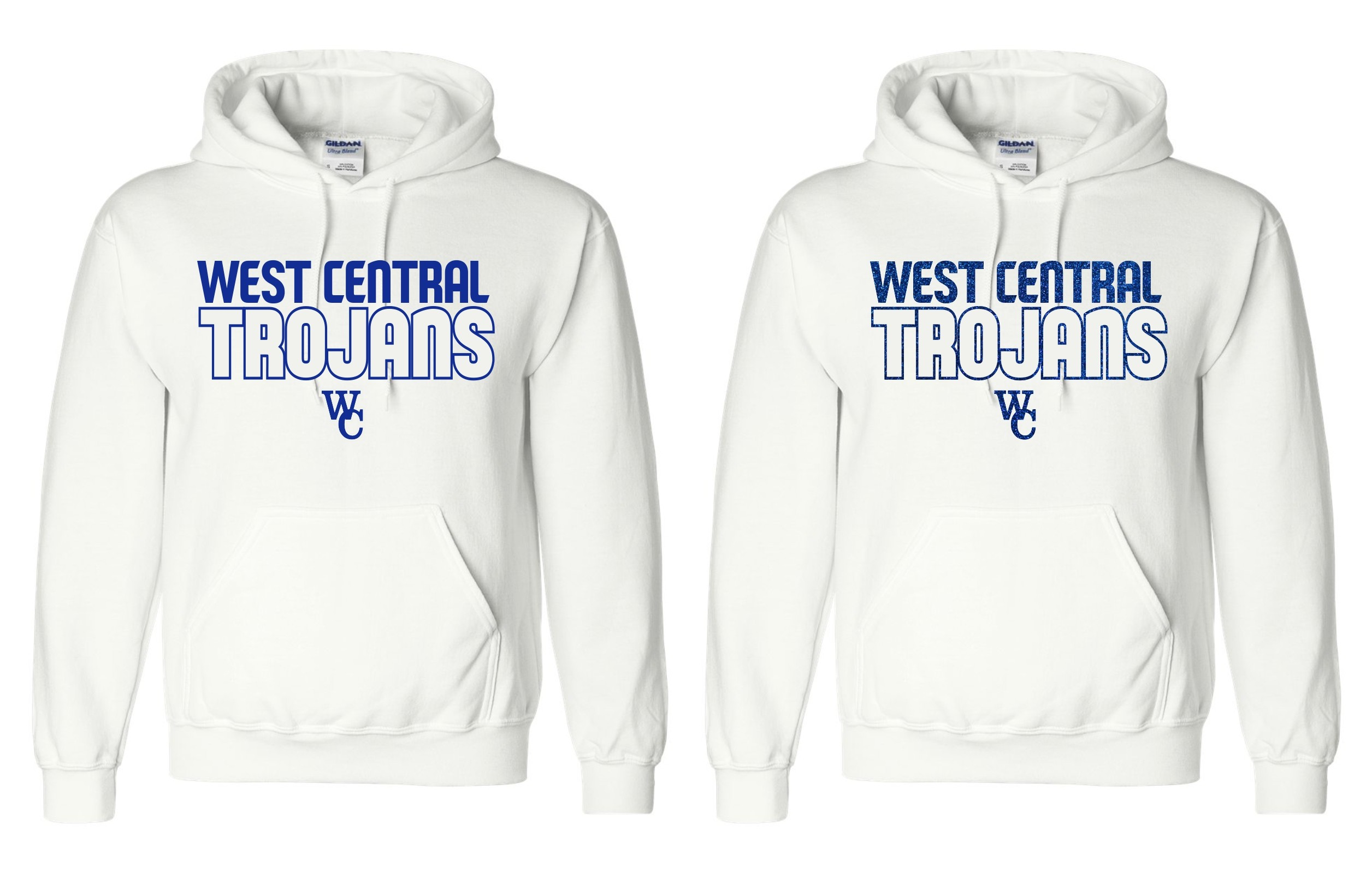 West Central Trojans Pullover Hoodie