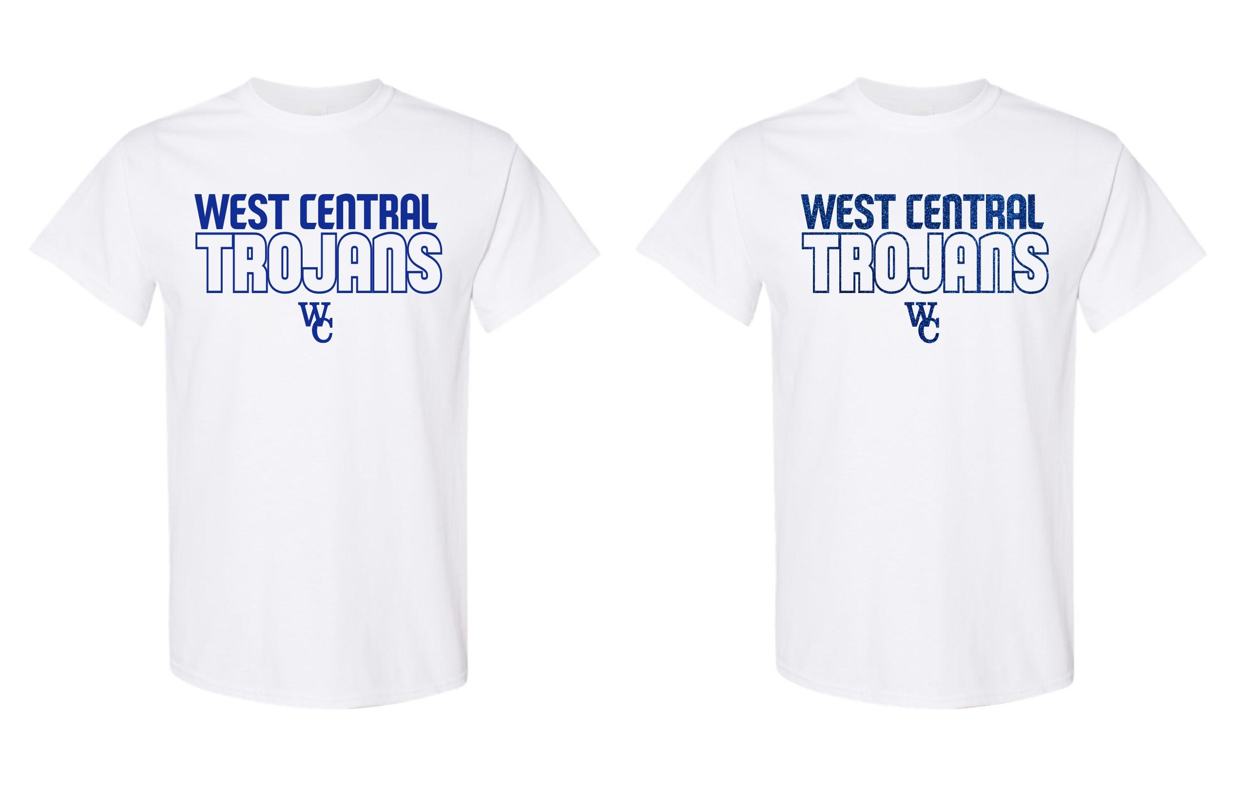 West Central Trojans Tee