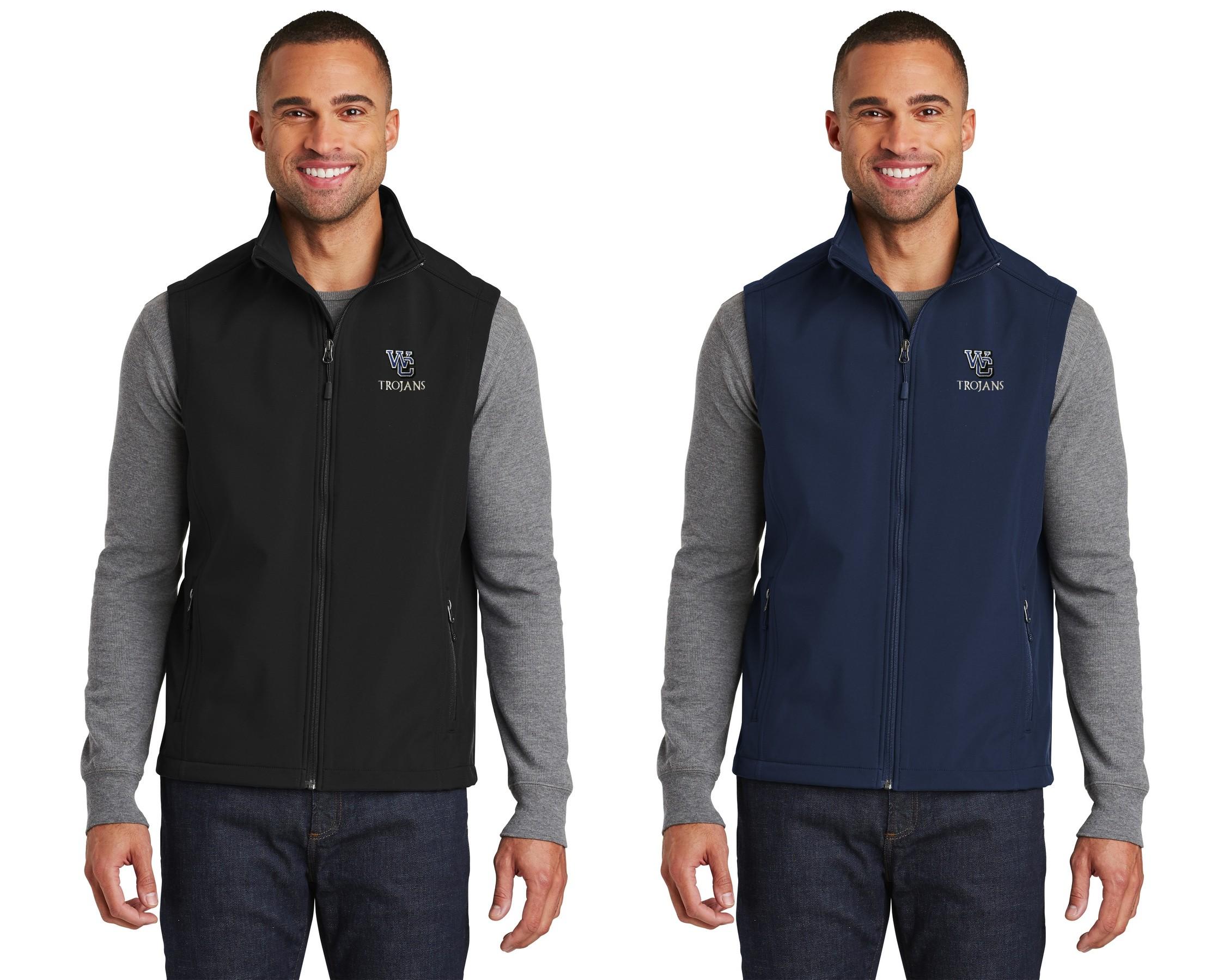 Men's WC Trojans Soft Shell Vest