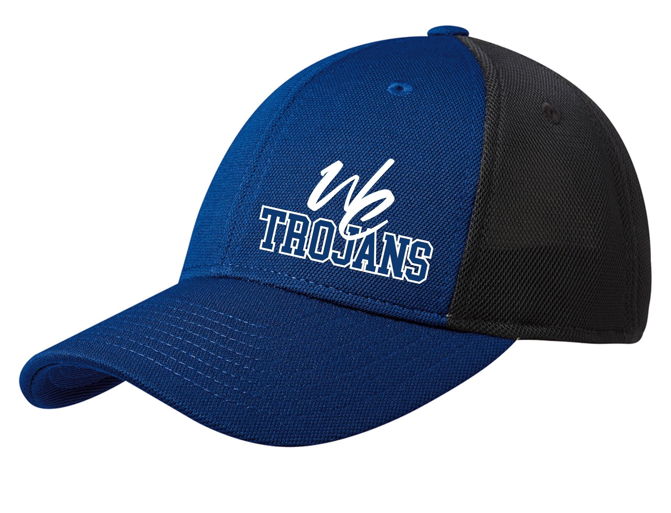 NEW West Central Trojans Flex Fit Hat