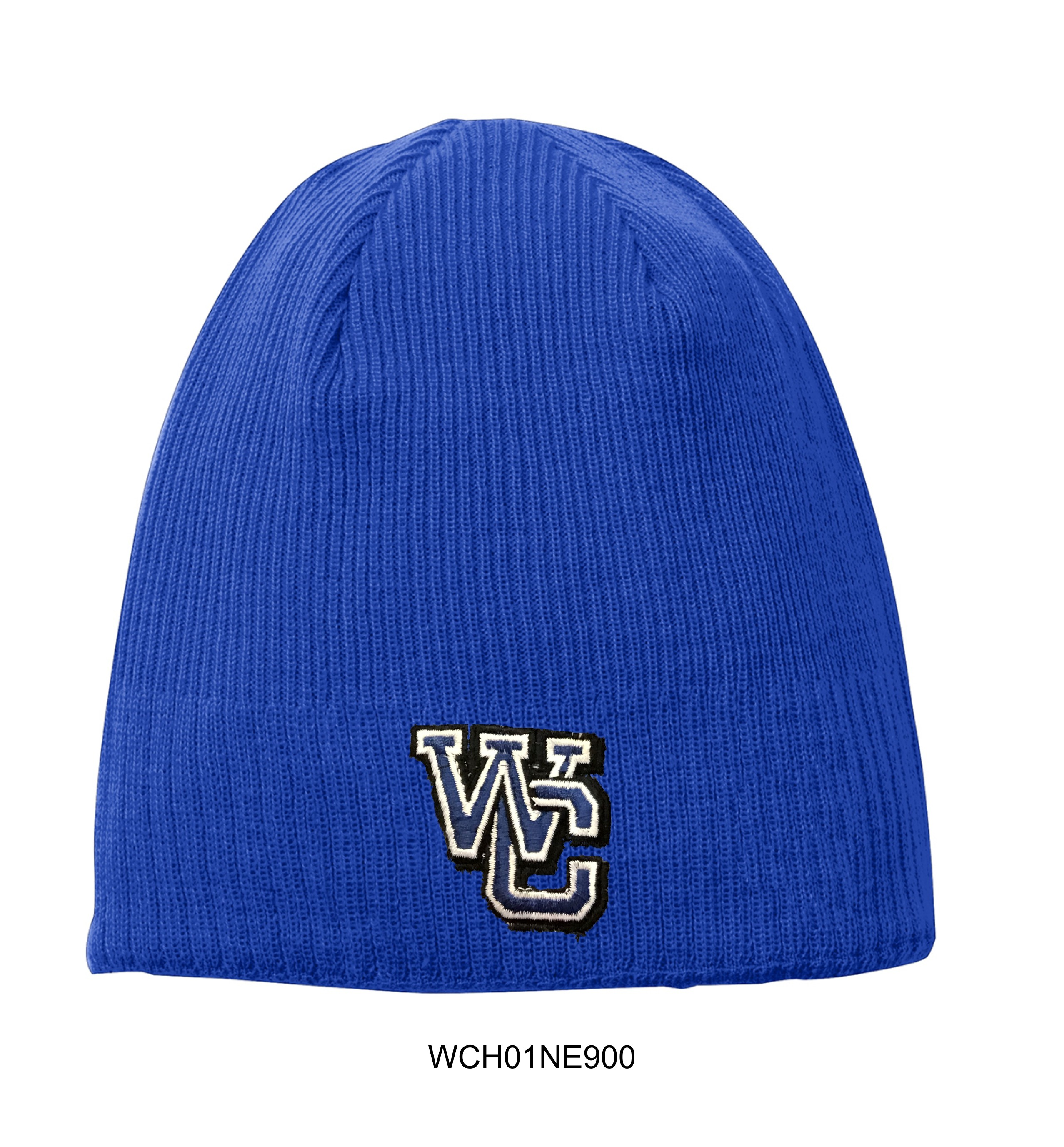 WC Knitted Beanie - Royal