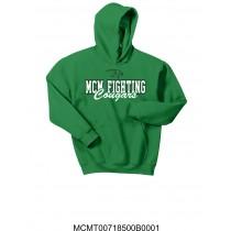 Kelly Green MCM Fighting Cougars Hoodie