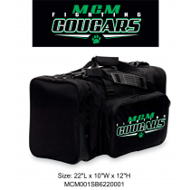 MCM Fighting Cougars Black Gym Bag