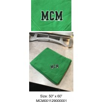MCM Fighting Cougars Kelly Green Blanket