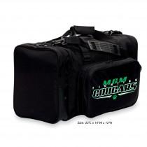 MCM Fighting Cougars Black Gym Bag