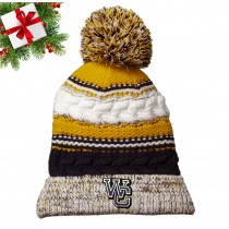 WC Knitted Hat - Gold