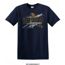 Adult Navy West Central Trojans T-Shirt