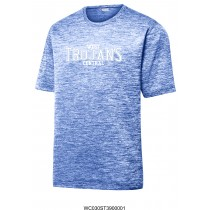 West Central Trojans Royal Heather Tee