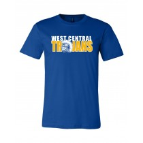 *NEW 2020 West Central Ring-Spun Tee - Royal