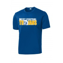 *NEW 2020 West Central Dri-Fit Tee - Royal
