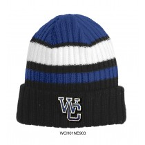 WC Knitted Ribbed Tailgate Beanie