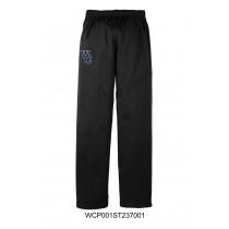 Youth Black Sport-Tek Sport-Wick Fleece West Central Sweatpants