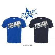 Youth WC Trojans Short Sleeve - Glitter