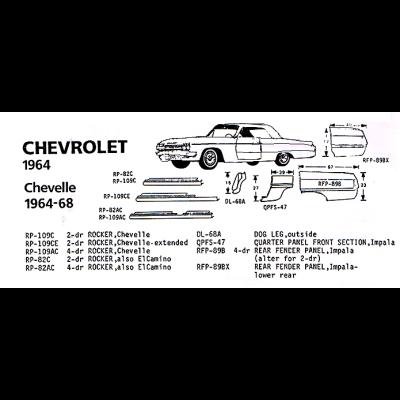 Classic Sheet Metal, Inc. - 1962 Chevrolet