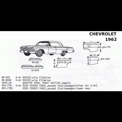 Classic Sheet Metal, Inc. - Ford 1968