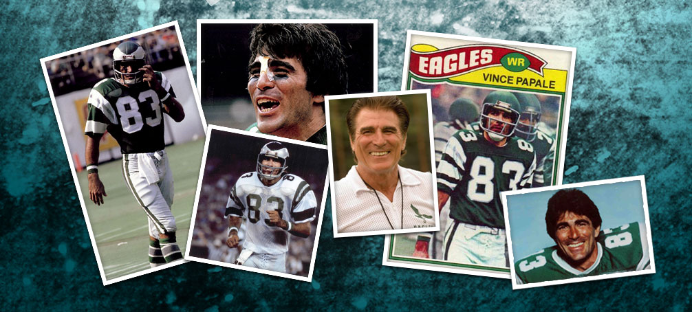 super popular 054f1 15f74 Vince Papale - Home