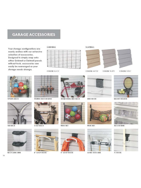 My Household Storage Solutions Inc Catalog